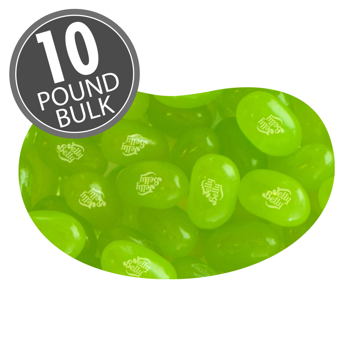 Lemon Lime Jelly Beans - 10 lbs bulk
