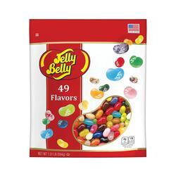 49 Assorted Jelly Bean Flavors 1.31 lb Pouch Bag