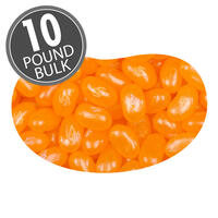 Jewel Orange Jelly Beans - 10 lb Bulk Case