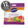 Sunkist® Fruit Gems® 3.1 oz Grab & Go® Bag - 12-Count Case