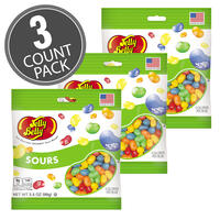 Sours Jelly Beans 3.5 oz Grab & Go® Bag - 3 Pack