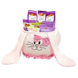 Easter Bunny Pink Bow Bag