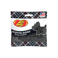 Scottie Dogs Black Licorice 2.75 oz Grab & Go® Bag