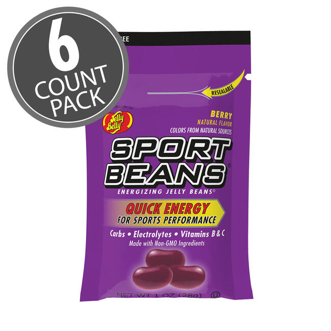 Sport Beans® Jelly Beans Berry 6-Count Pack