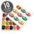 Jelly Belly 20-Flavor Christmas Gift Box 10-Count Case-thumbnail-1