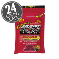 Extreme Sport Beans® Jelly Beans with CAFFEINE - Cherry 24-Pack