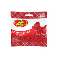 Scottie Dogs Red Licorice 2.75 oz Grab & Go® Bag