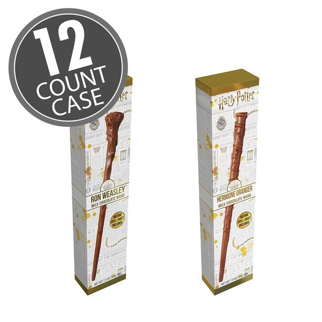Harry Potter™  Ron & Hermione Chocolate Wand - 1.5 oz - 12 Count Case