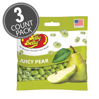Juicy Pear Jelly Beans 3.5 oz Grab & Go® Bag - 3-Count Pack