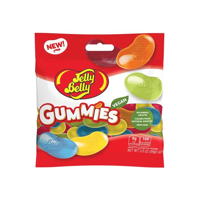 Jelly Belly Assorted Gummies 3.5 oz Bag