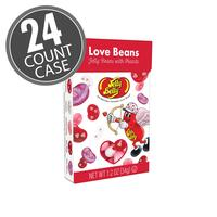 Jelly Belly LOVE Beans 1.2 oz Flip Top Box - 24 Count Case