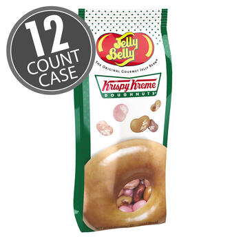 Krispy Kreme Doughnuts® Jelly Beans Mix 7.5 oz Gift Bag, 12-Count Case