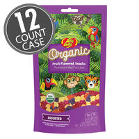 Organic Fruit Flavored Snacks 5.5 oz bag - 12 Count Case