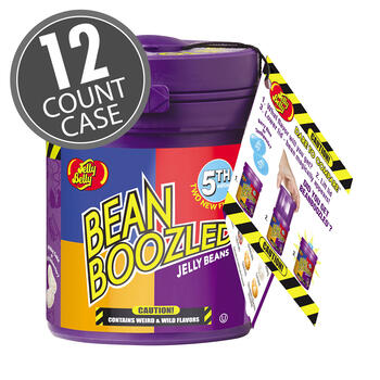 BeanBoozled Jelly Beans 3.5 oz Mystery Bean Dispenser (5th edition) 12-Count Case
