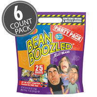 BeanBoozled Party Pack 7.1 oz Pouch Bag (5th Edition), 6-Count Case