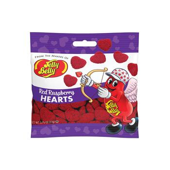 Red Raspberry Hearts 2.75 oz Grab & Go®