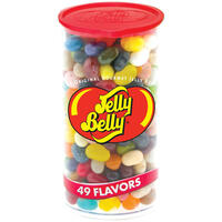 49 Assorted Jelly Bean Flavors - 12 oz Clear Can