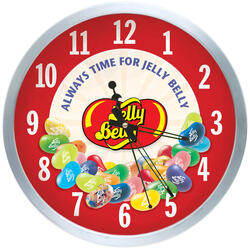 Always Time for Jelly Belly Clock