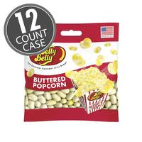 Buttered Popcorn Jelly Beans 3.5 oz Grab & Go® Bag - 12 Count Case