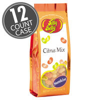 Sunkist® Citrus Mix Jelly Beans - 7.5 oz Gift Bag - 12-Count Case