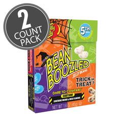 BeanBoozled Trick or Treat Jelly Beans 1.6 oz Flip Top Box (5th Edition), 2-Count Pack