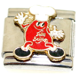 Mr. Jelly Belly Italian Charm
