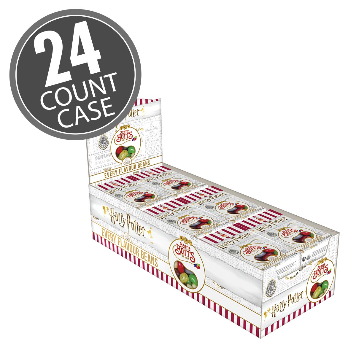 Harry Potter™ Bertie Bott's Every Flavour Beans - 1.2 oz boxes - 24 Count Case
