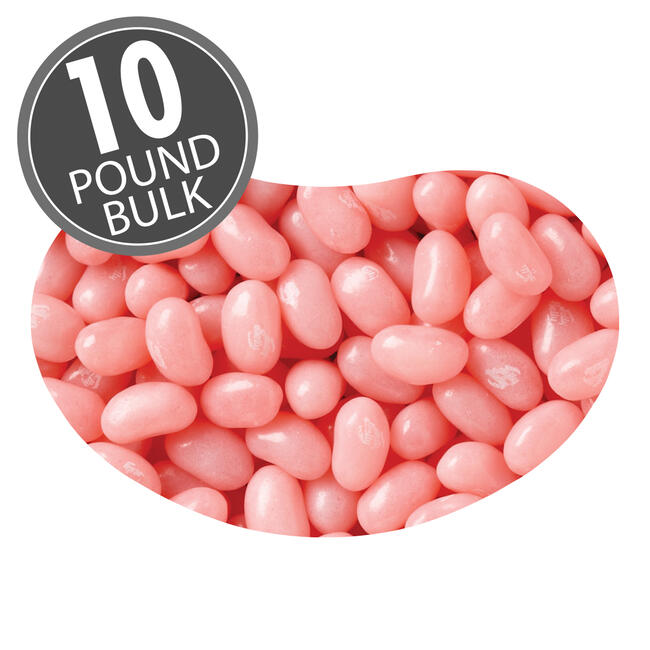 Bubble Gum Jelly Beans - 10 lbs bulk