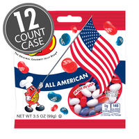 All American Mix Jelly Beans 3.5 oz Grab & Go® Bag - 12 Count Case