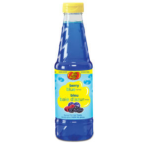 Jelly Belly Snow Cone Syrup - Sugar-Free Berry Blue