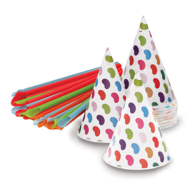 Jelly Belly Snow Cone Cups and Straws