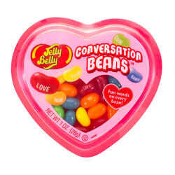 Jelly Belly Conversation Beans Hearts Mix 1 oz