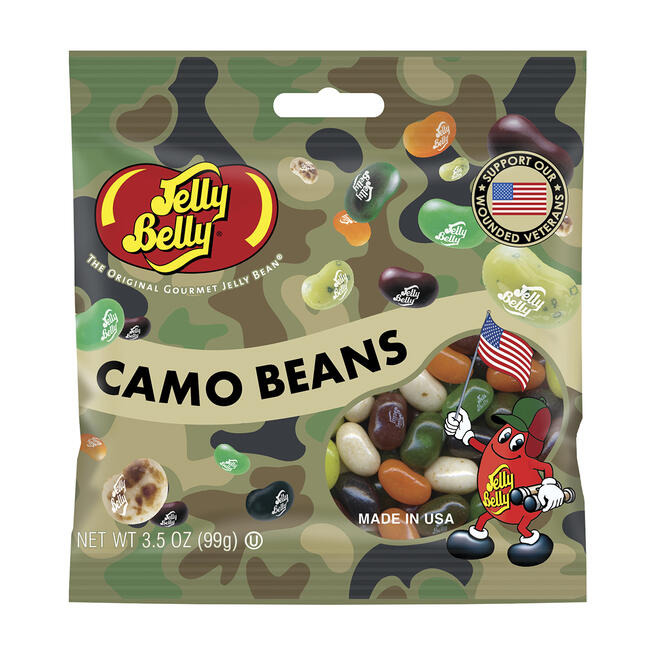 Camo Bean Jelly Beans - 3.5 oz Bag