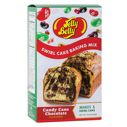 Jelly Belly Candy Cane Chocolate Swirl Cake Baking Mix
