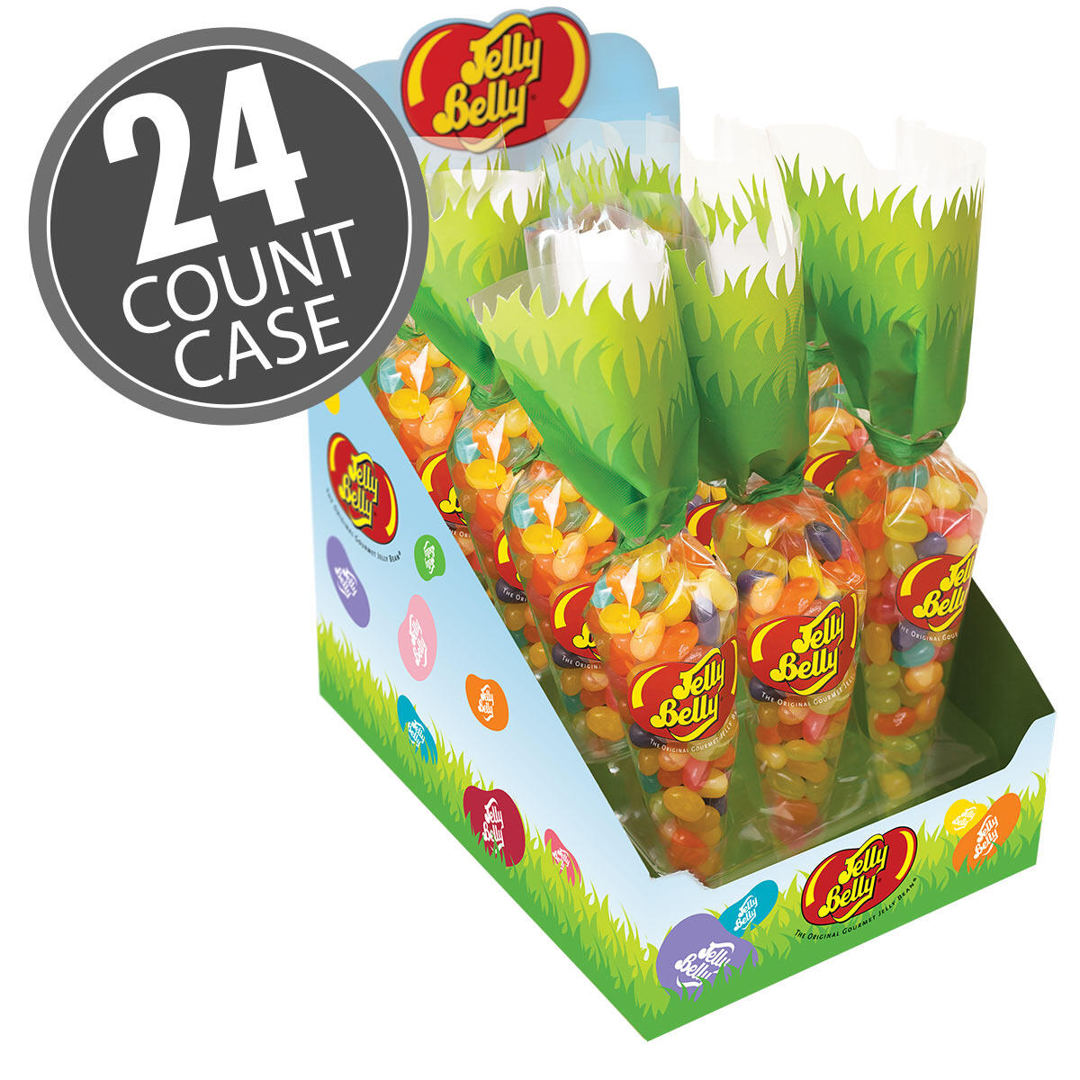 Jelly Belly Spring Mix Baby Carrot Bag 24-Count Case