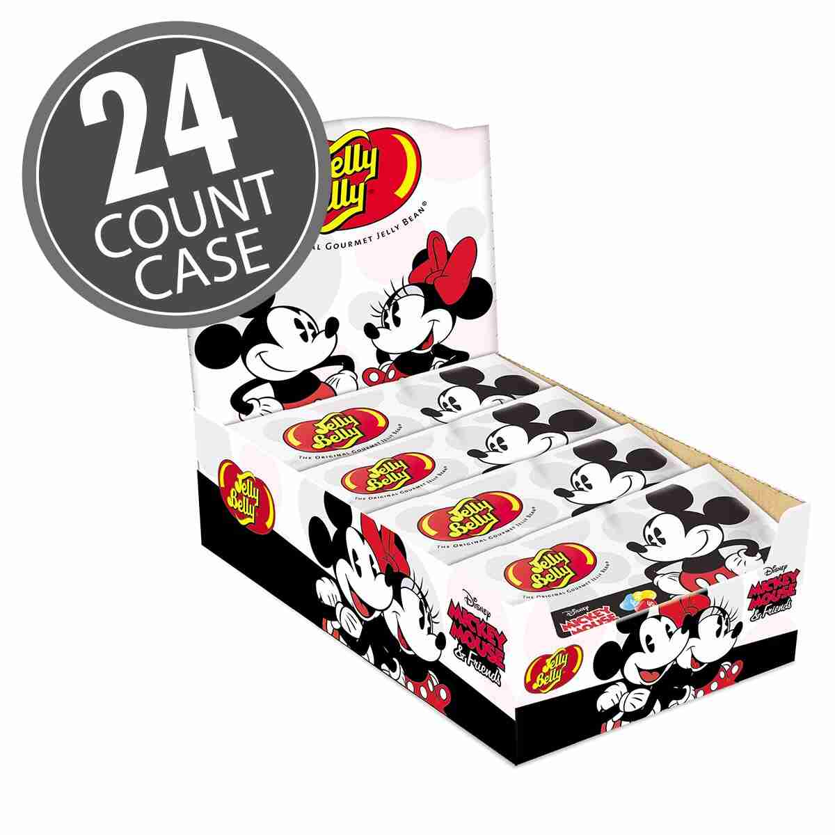 Mickey Mouse Jelly Beans - 1 oz Bag - 24 Count Case