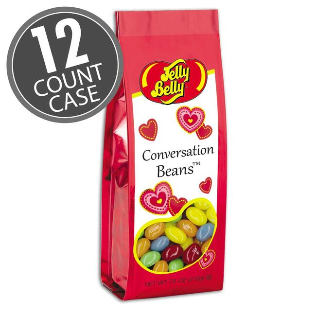 Jelly Belly Conversation Beans® - 7.5 oz Gift Bags - 12-Count Case