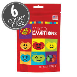 Jelly Belly Mixed Emotions™ 8.75 oz Pouch Bag 6-Count Case