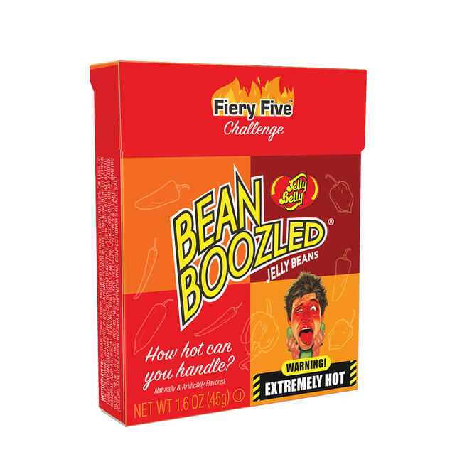 BeanBoozled Fiery Five 1.6 oz Flip Top Box