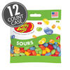 Sours Jelly Beans 3.5 oz Grab & Go® Bag - 12 Count Case
