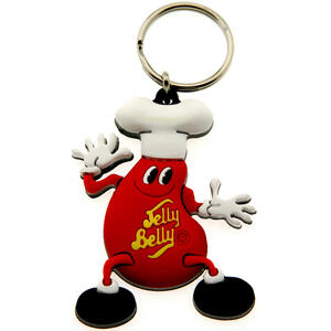 Mr. Jelly Belly Key Ring