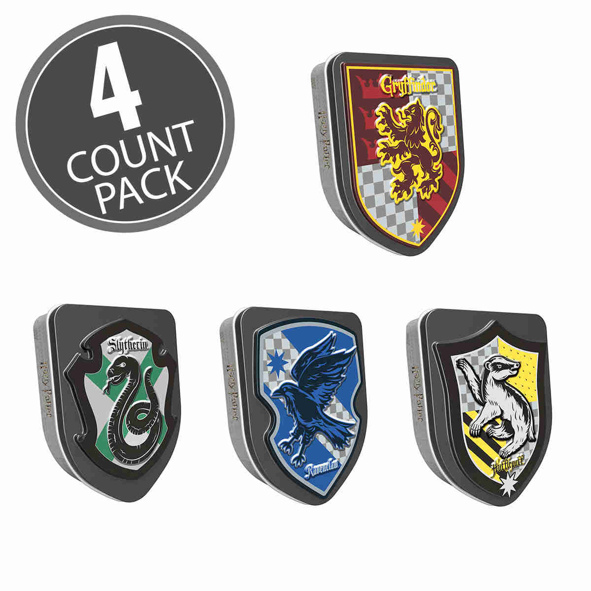 Harry Potter™ Crest Tin - 1 oz - 4 Count Pack