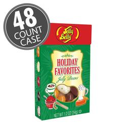Holiday Favorites Jelly Bean 1.2 oz Flip Top Box - 48 Count Case