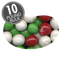 Christmas Chocolate Malt Balls - 10 lbs bulk