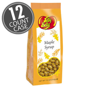 Maple Syrup Jelly Beans 7.5 Gift Bag 12-Count Case