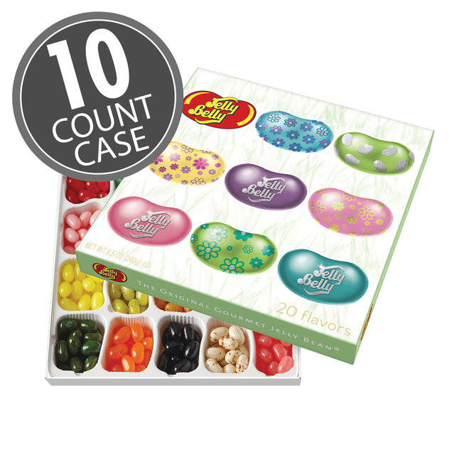 Jelly Belly 20-Flavor Spring Gift Box, 10-Count Case
