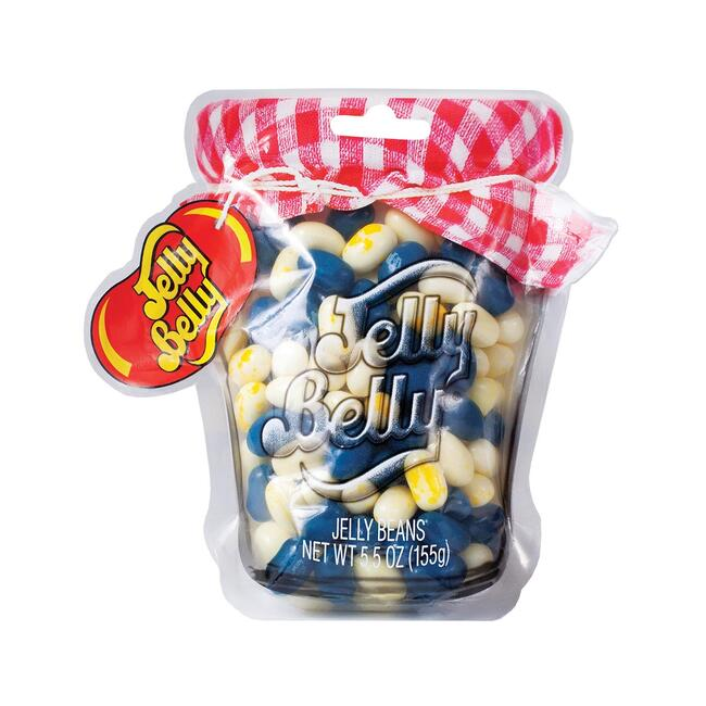 Jelly Belly Blueberry Muffin Mix Mason Jar Bag - 5.5 oz