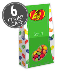 Jelly Belly Sours 4 oz Gable Top Gift Box 6-Count Case