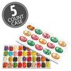 Jelly Belly 40-Flavor Christmas Gift Box 5-Count Case