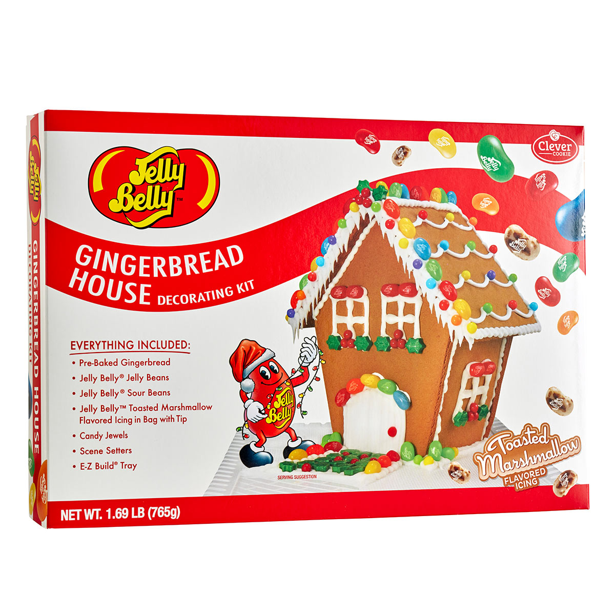 Jelly Belly Gingerbread House Decorating Kit ...